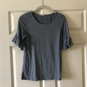 Tops - Blue Bell Sleeve Top